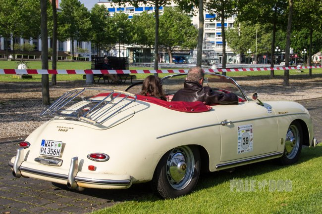 1958 Porsche 356 A 1600 Super Speedster (rear view)