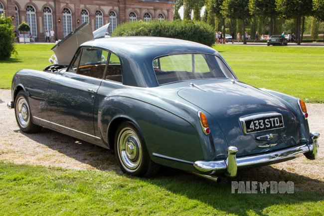 1956 Bentley S-Type Continental Park Ward-Coupé (rear view)