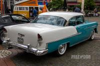 1955 Chevrolet Bel Air Hardtop Coupe (rear view)