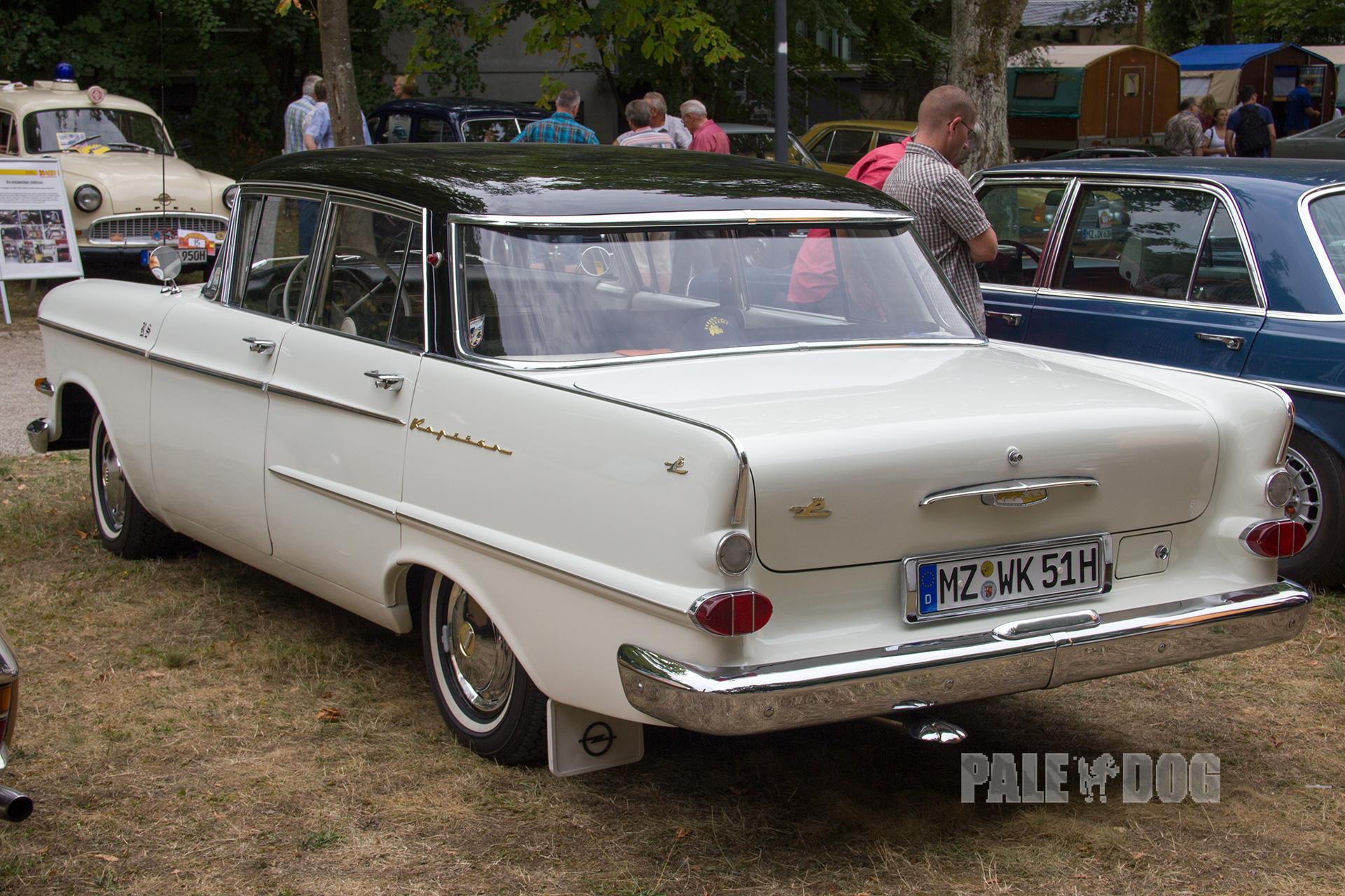 1959 Opel Kapitan P 2 6 L Heck Post War Paledog Fotosammlung