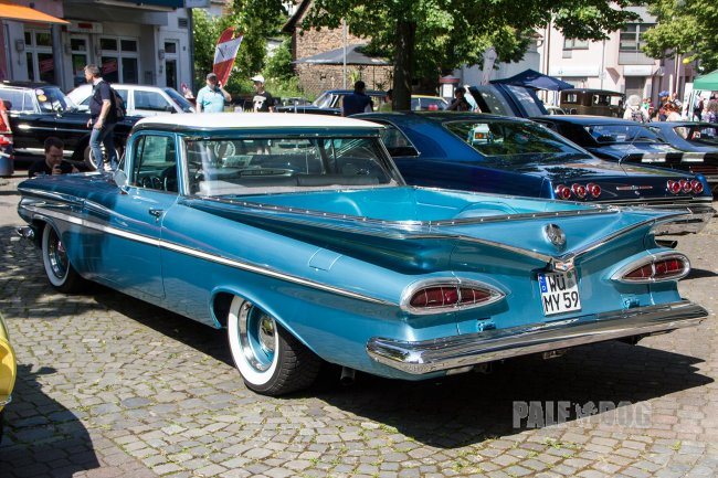 1959 Chevrolet El Camino (rear view)