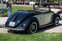 "1950 VW 1100 ""Käfer"" Hebmüller-Cabriolet (rear view)"