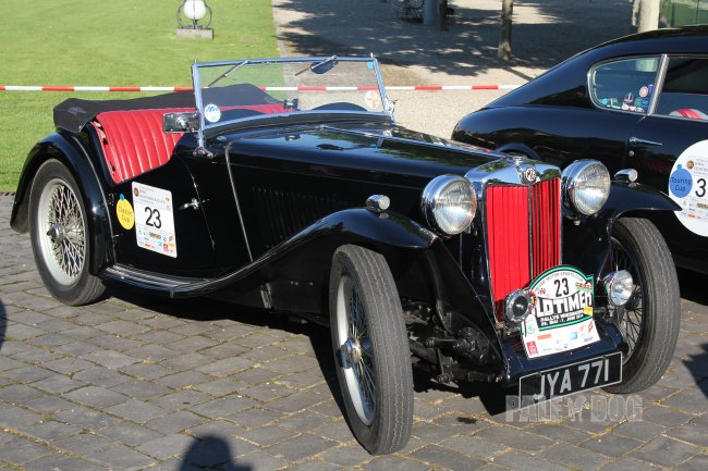 1947 MG TC (front view)