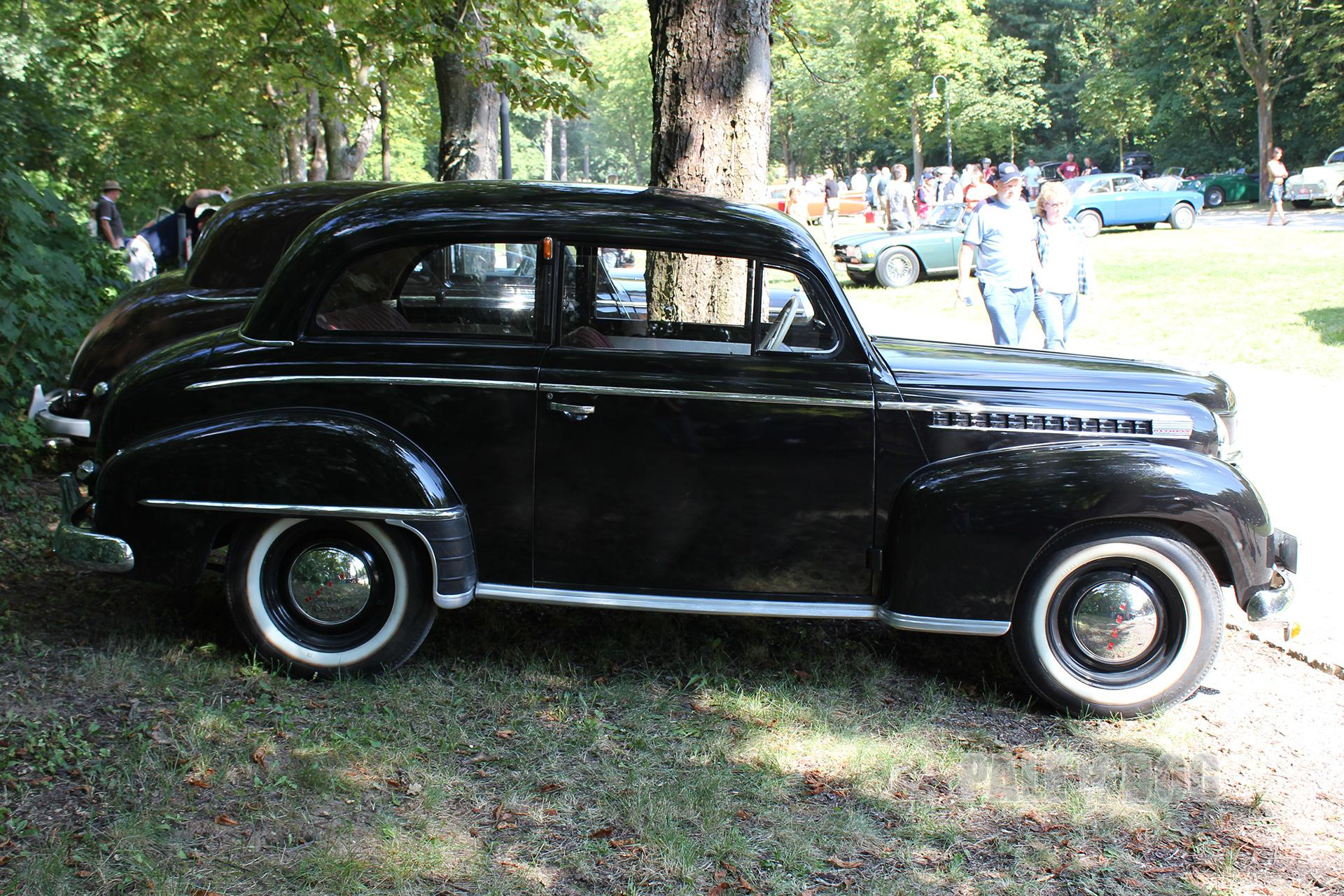 1951 opel olympia limousine side view post war. Black Bedroom Furniture Sets. Home Design Ideas