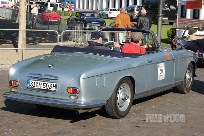 1958 BMW 503 Cabriolet (rear view)