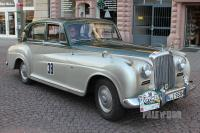 1954 Bentley R Type Sports Saloon by James Young (front view)