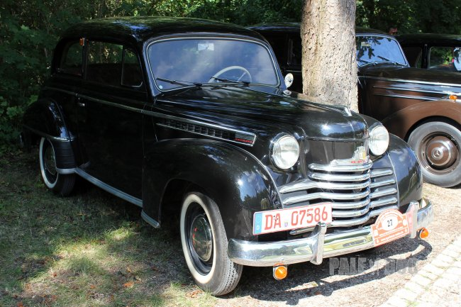 1951 opel olympia limousine front view post war. Black Bedroom Furniture Sets. Home Design Ideas