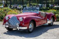 1950 Alvis TB14 Super Sports Tourer (front view)