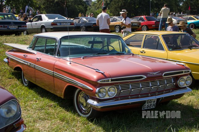 1959 Chevrolet Impala Hardtop Sport Sedan  Front View