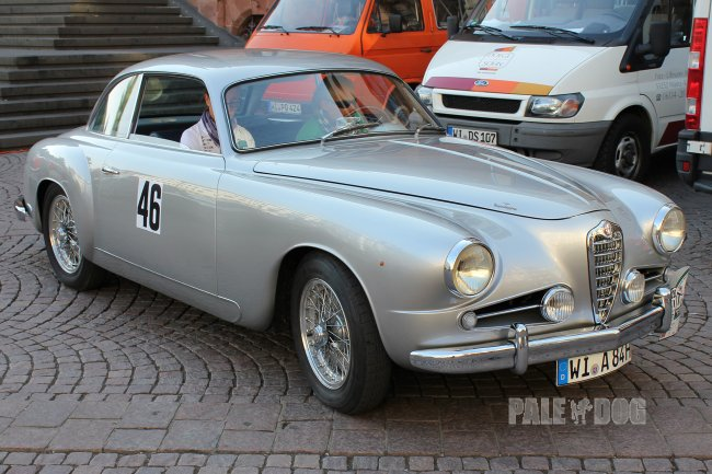 1955 Alfa Romeo 1900 C Super Sprint by Touring (front view)
