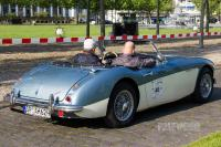 1960 Austin-Healey 3000 Mk I Roadster (rear view)