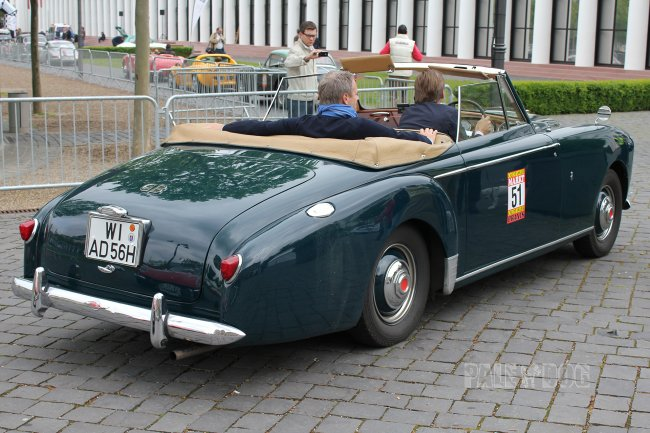 1956 Lagonda 3 Litre DHC by Tickford (rear view)