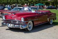 1953 Chrysler New Yorker DeLuxe Convertible (front view)