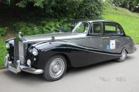 1957 Rolls-Royce Silver Cloud I Empress Saloon by Hooper (front view)
