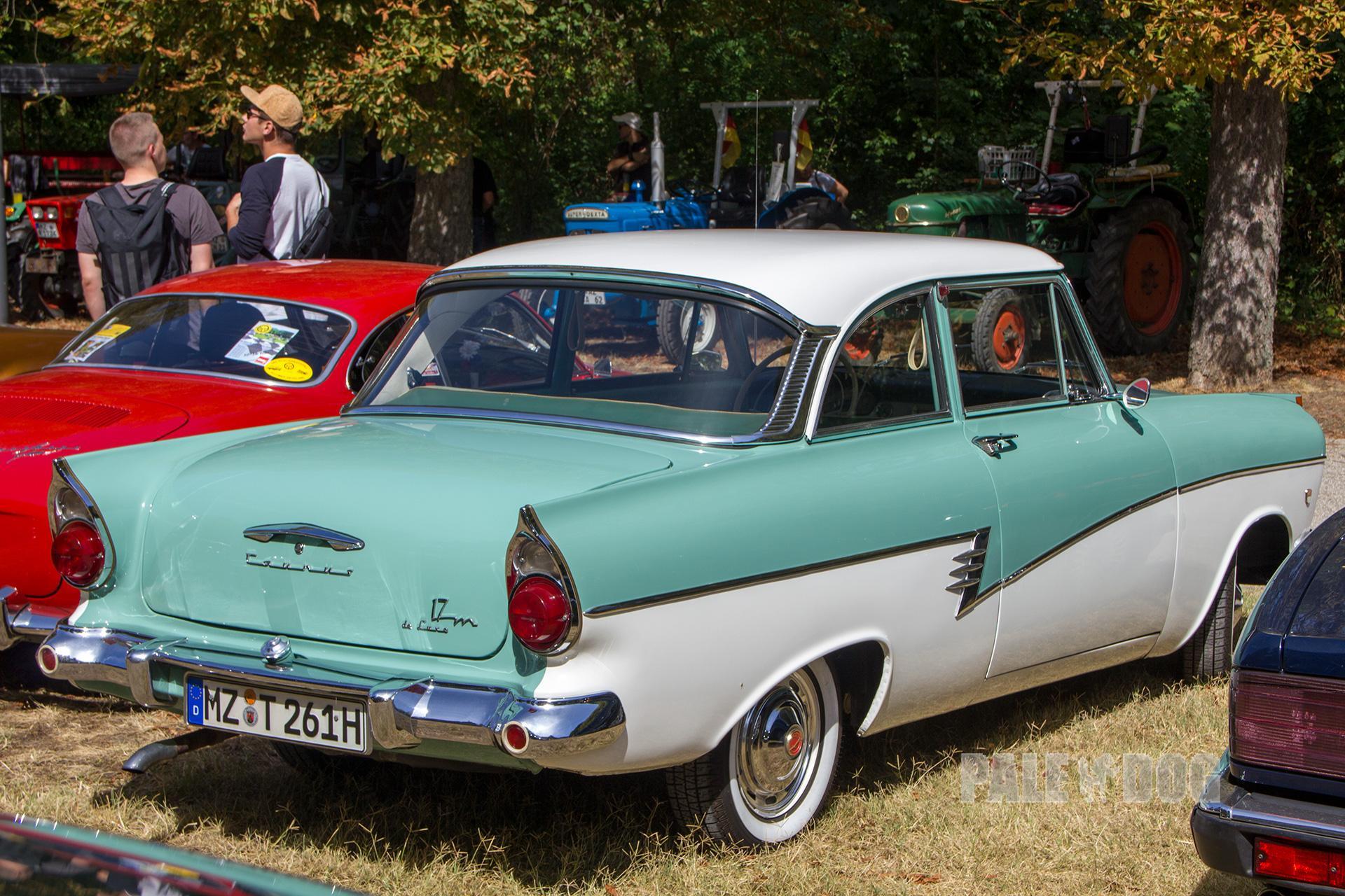 1960 ford taunus 17m de luxe p2 rear view post war. Black Bedroom Furniture Sets. Home Design Ideas