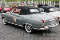 1959 Borgward Isabella Coupé Cabriolet (rear view)