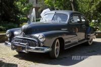 1947 Buick Special Sedanet (front view)