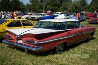 1959 Chevrolet Impala Hardtop Sport Sedan (rear view)