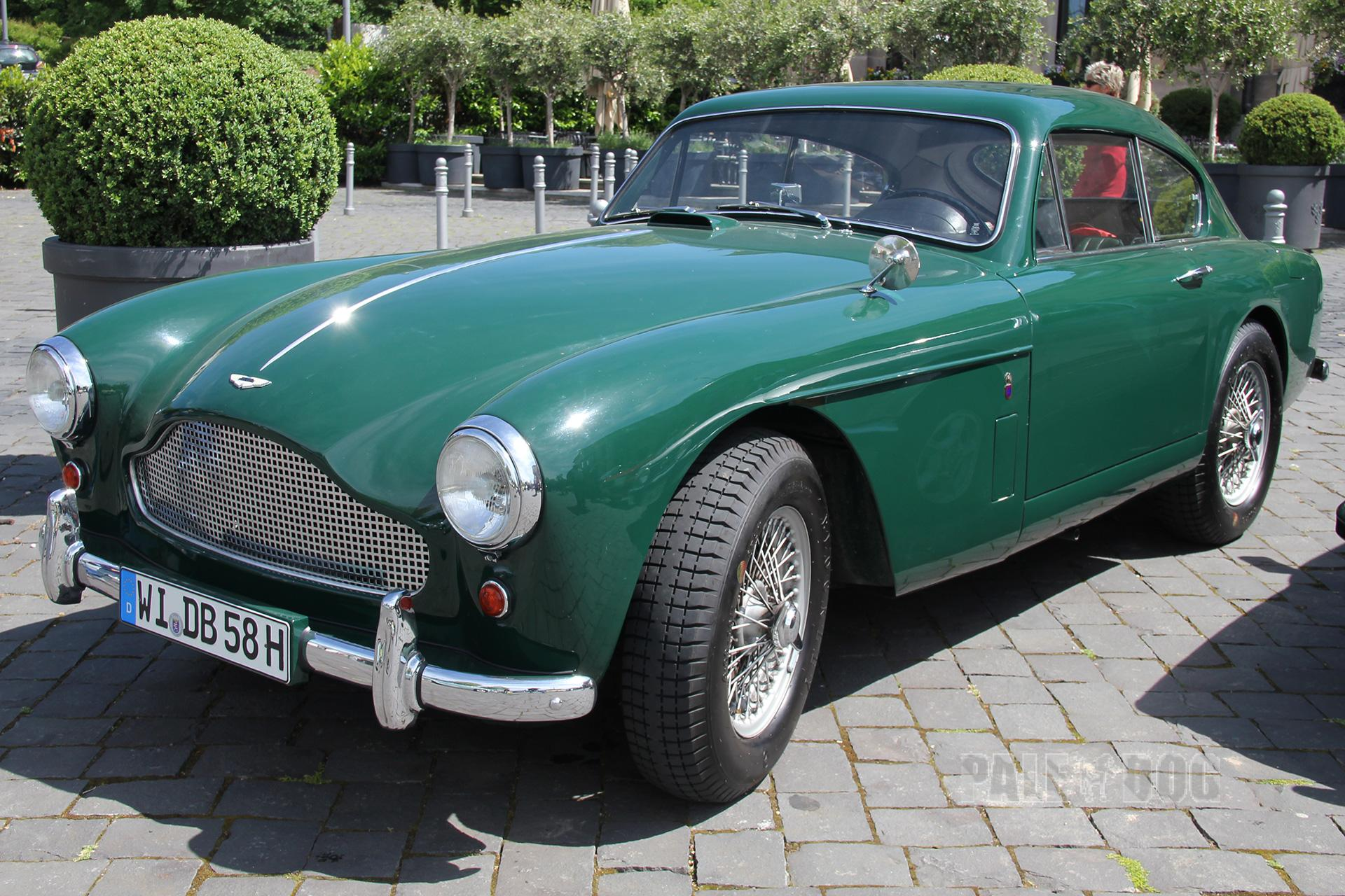 1958 Aston Martin Db 2 4 Mk Iii Coupé Front View Post War Paledog Photo Collection
