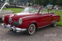 1951 Studebaker Champion Regal Convertible (front view)