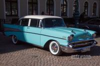 1957 Chevrolet Bel Air Sedan (front view)