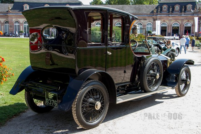 1911 Rolls-Royce 40/50 HP Silver Ghost Grosvenor-Open Drive Limousine (rear view)
