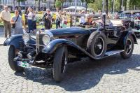 1929 Mercedes-Benz SS 27/170/225 PS Cabriolet (front view)