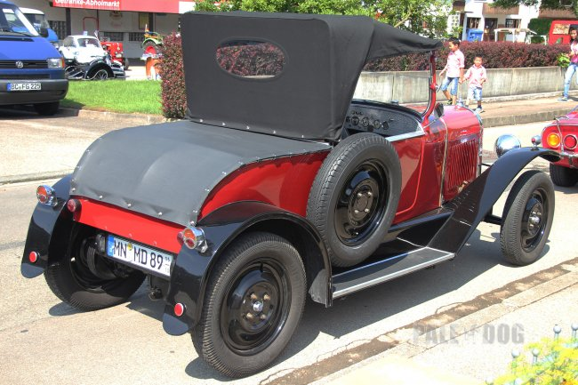 1924 Citroën B2 Cabriolet (rear view)