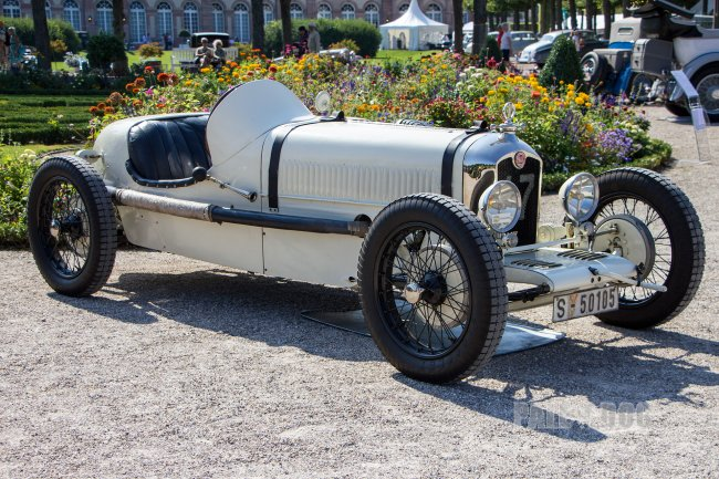 1929 Rally ABC Biplace (front view)
